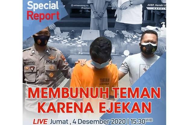 Live! Special Report iNews Jumat Pukul 15.30: Mulutmu Harimaumu, Membunuh Teman Karena Ejekan