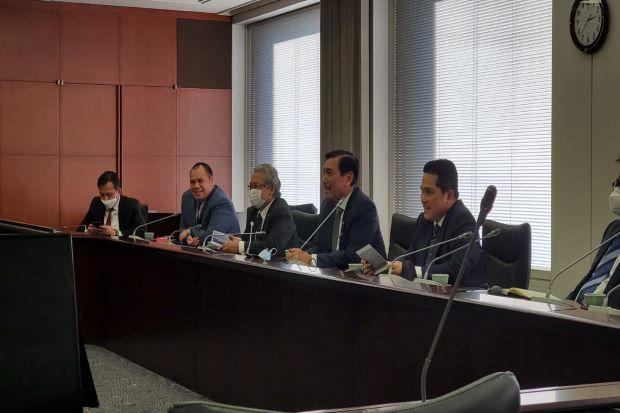 Opung Luhut: Jepang Akan Tanam Duit Rp57 Triliun untuk SWF Indonesia