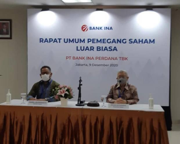BINA Usai Gelar RUPSLB, Bank INA Rombak Jajaran Direksi