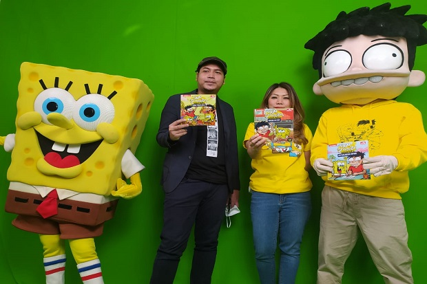 Kolaborasi Si Juki dan Spongebob, PT MNC Licensing Ingin Bawa Brand Lokal ke Internasional