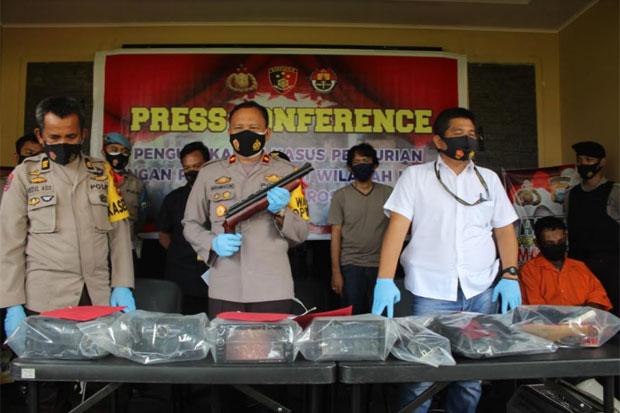 Spesialis Pencuri Pecah Kaca Mobil Lintas Kabupaten Diringkus Polisi