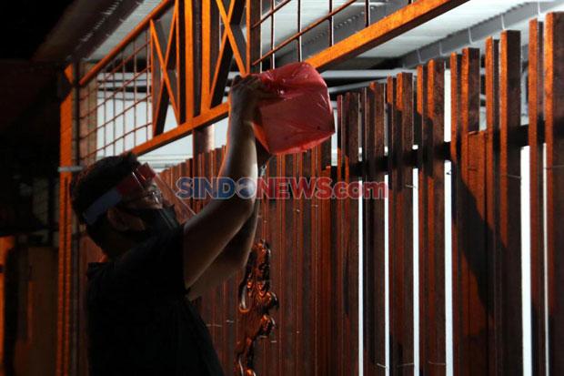 Tim Mobile Satgas Covid-19 Tana Toraja Pantau Pasien Positif di Rembon