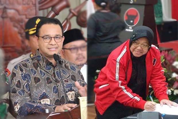 Blusukan Risma Selama Sepekan Bentuk Citra Politik sebagai Pesaing Anies