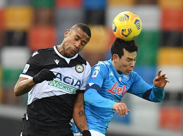 Napoli Tendang Juventus Usai Menang di Markas Udinese