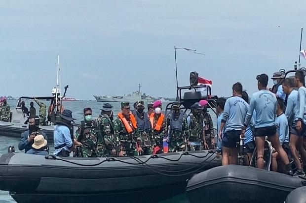 Tambah 6 Kapal Perang, KSAL Kerahkan 14 KRI Bantu Operasi SAR Sriwijaya Air