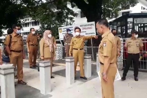 Rudy Djamaluddin Ubah Jalur Pedestrian Balaikota Ramah Disabilitas