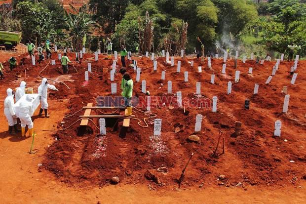 Rekor, Sehari Angka Kematian Akibat Covid-19 Lima Kali Lipat Korban SJ 182