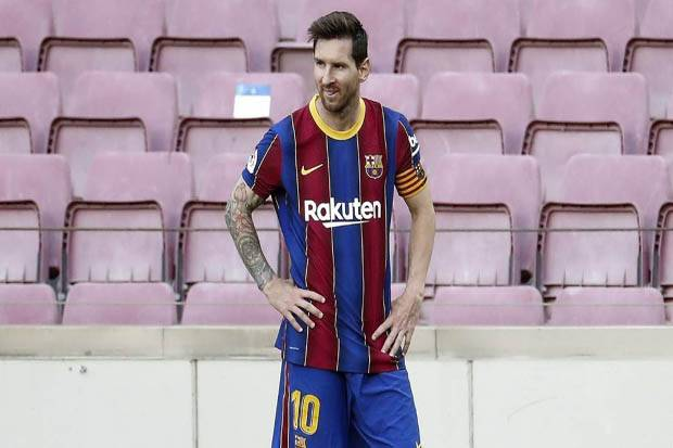 Jika Messi Pindah, Barcelona Cicil Sisa Pembayaran Bonus Senilai Rp 672 Miliar hingga 2025