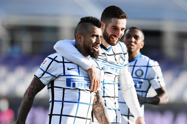 Nyaris Buang Keunggulan, Inter Tembus Perempat Final Coppa Italia