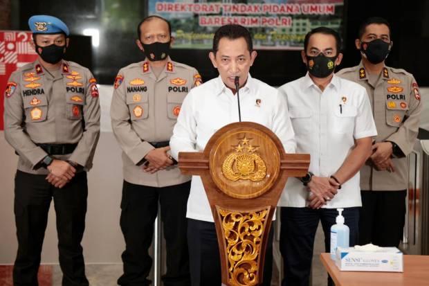 Calon Kapolri Tunggal , Ini Deretan Kasus Besar yang Diungkap Listyo Sigit Prabowo