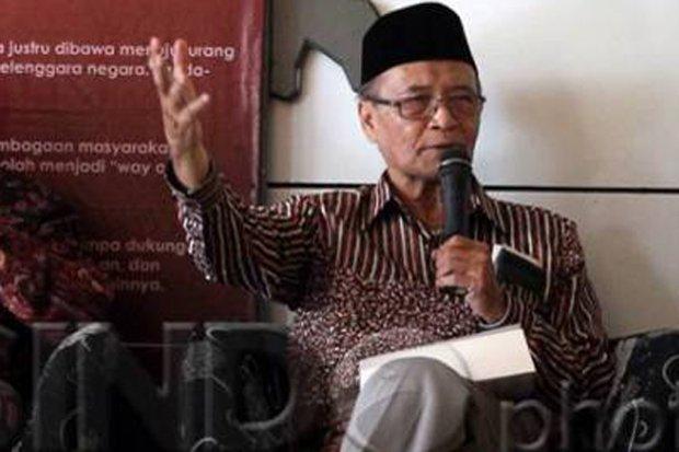 Syafii Maarif Ucapkan Selamat ke Listyo Sigit sebagai Calon Kapolri