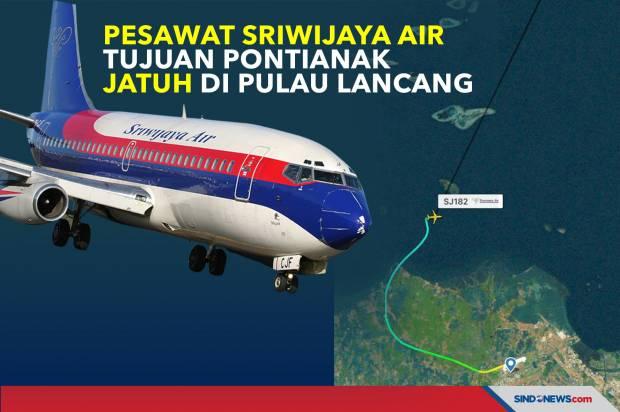 Kelayakan Terbang Pesawat Sriwijaya SJ-182 Dipertanyakan, Ini Kata Mantan Menhub