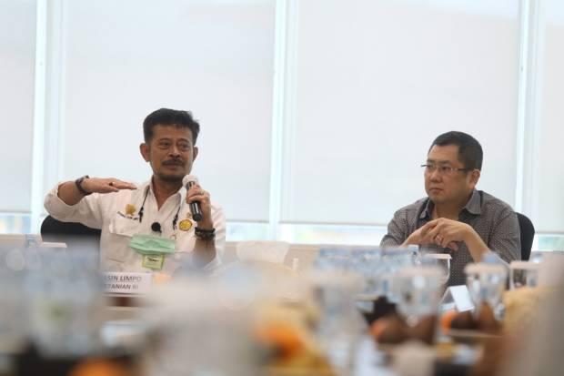Terima Kunjungan Mentan, Hary Tanoesoedibjo Bahas Investasi Bidang Pertanian