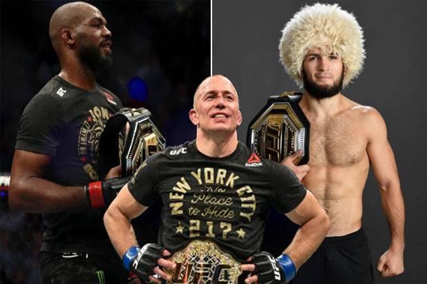 Georges St-Pierre Coret Khabib, Hapus Jon Jones dari UFC GOAT