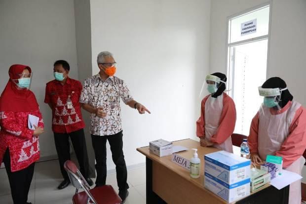 Ganjar Pranowo Minta Masyarakat Jateng Sukseskan Program Vaksinasi
