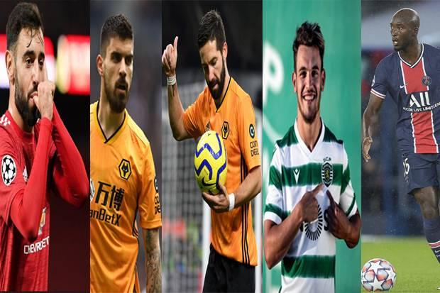 Tak Cuma Ronaldo, Gelandang Portugal Ini Juga Bikin Candu Klub Eropa