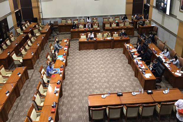 Belanja Bahan Uji Kepatutan Calon Kapolri, Komisi III-PPATK Rapat Tertutup