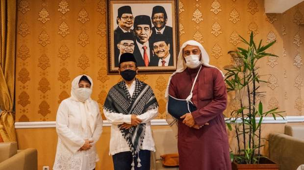 Kenang Syekh Ali Jaber, Mahfud MD Teringat Diajak Makan Nasi Kebuli