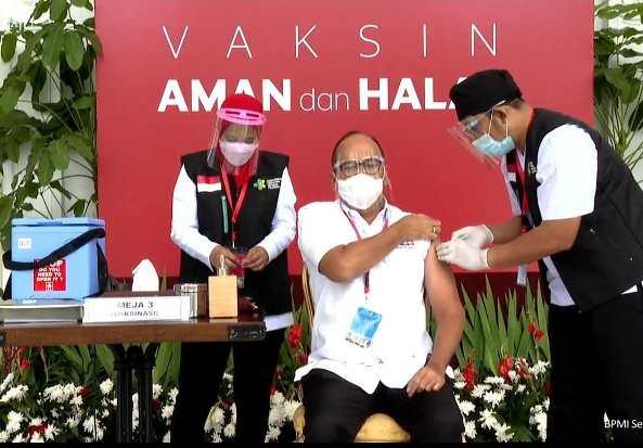 Usai Divaksin, Ketum Kadin Usul Swasta Diberi Akses Vaksinasi Mandiri