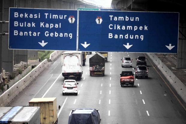 Tarif Tol Jakarta-Cikampek Resmi Naik, Ini Daftarnya