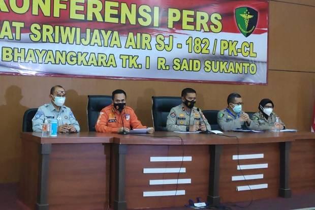 Hari Ketujuh Pasca Kecelakaan Sriwijaya Air SJ-182, Tim DVI kembali Identifikasi 5 Korban