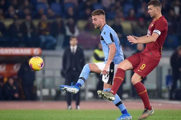 Susunan Pemain Lazio vs AS Roma: Perang Lini Depan