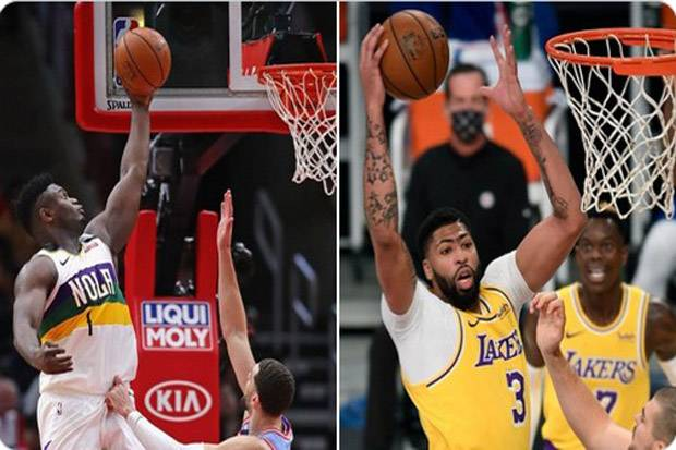 Hasil Lengkap Pertandingan NBA, Sabtu (16/1/2021): Dua Penguasa Wilayah Cetak Kemenangan