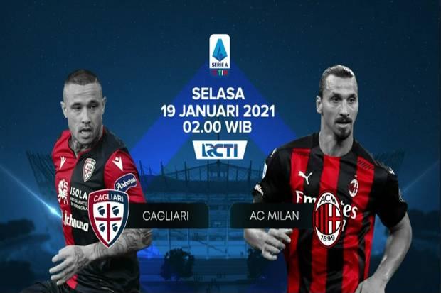 Preview Cagliari vs AC Milan: Berharap Keajaiban