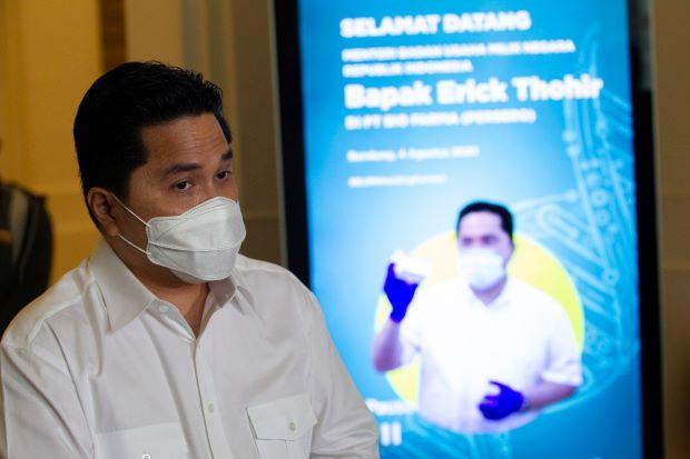 Sinergi PNM, Pegadaian dan BRI, Erick Thohir Minta Ini