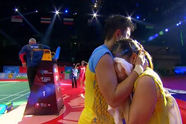 Juara Super 1.000 Pertama, Greysia Mewek Dipelukan Apriyani