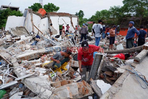 Update Gempa Sulbar: 73 Orang Meninggal, Paling Banyak di Mamuju
