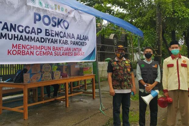Berbagai Organisasi di Pangkep Galang Bantuan untuk Korban Gempa Sulbar