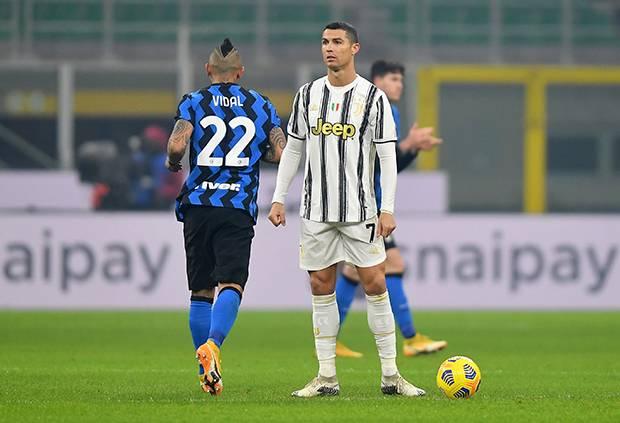 Babak I Ronaldo Masih Mandul Inter Milan Koyak Gawang Juventus