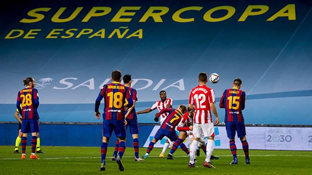 Messi Hajar Kepala Lawan, Athletic Bilbao Kampiun Piala ...