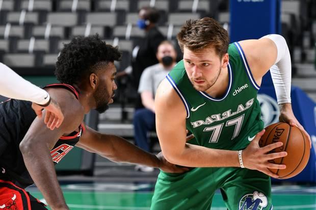 Hasil pertandingan NBA 2020/2021, Senin (18/1/2021) WIB: Luka Doncic Lampaui Jordan