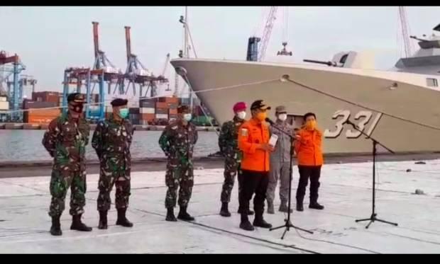 Tim SAR Temukan Satu Material Serpihan Pesawat Sriwijaya Air