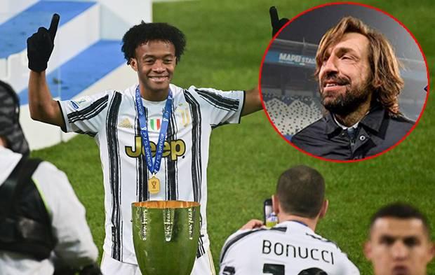 Juventus Kampiun! Pirlo Kesengsem Comeback Juan Cuadrado