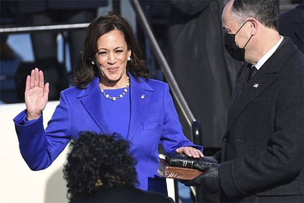 Kamala Harris Diambil Sumpah Sebelum Joe Biden? Ini Penjelasan Imam Shamsi Ali