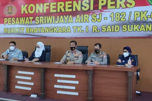 Pencarian Dihentikan, Identifikasi Korban Sriwijaya Air Berlanjut Sepekan