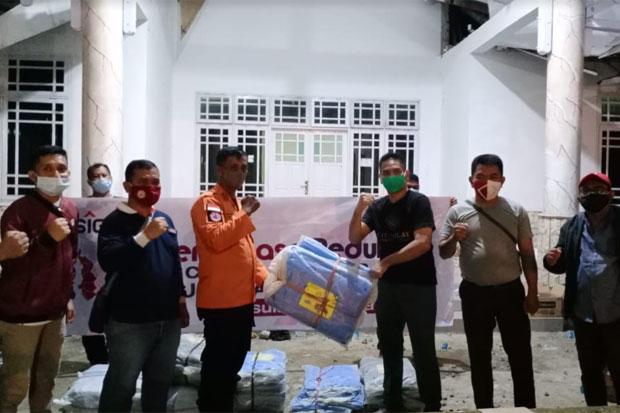 PT Semen Tonasa Kirim Bantuan dan Bangun Posko Kemanusiaan di Mamuju