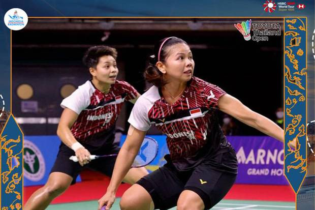 Hendra/Ahsan dan Greysia/Apriyani Gagal ke Final Toyota Thailand Open 2021