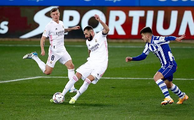 Real Madrid Bikin Hujan Gol di Kandang Deportivo Alaves