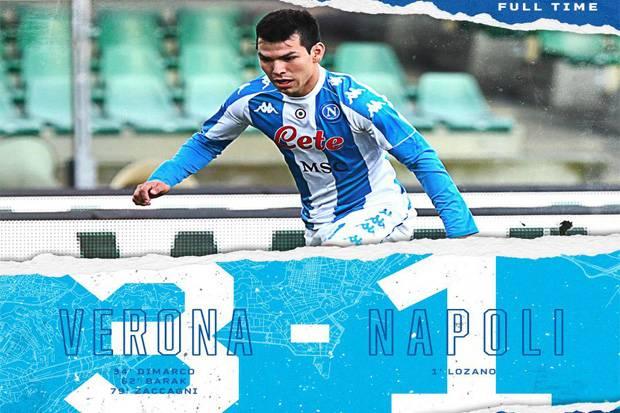 Verona Gagalkan Langkah Napoli ke Empat Besar