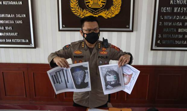 Ini Beragam Profesi Lima Terduga Teroris yang Ditangkap di Aceh