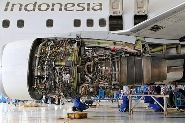Jamin Keselamatan Penumpang, Garuda Selalu Lakukan Perawatan Pesawat
