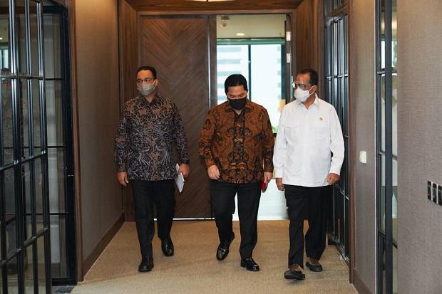 Dua Menteri Jokowi Bertemu Anies Baswedan, Bahas Apa?