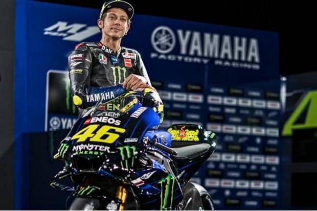 Momen Tak Biasa Perpisahan Rossi dengan Tim Yamaha