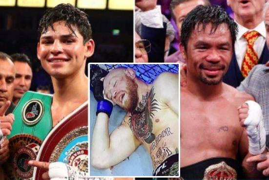 McGregor Di-KO Poirier, Ryan Garcia Naik Kelas Lawan Pacquiao