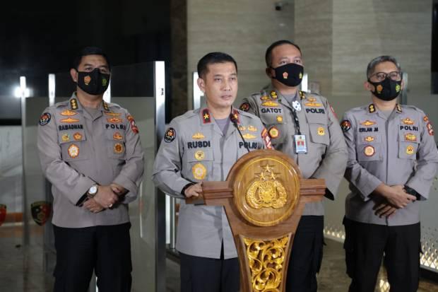 Polri Gandeng Kemlu dan Interpol Usut Pembakar Bendera Merah Putih