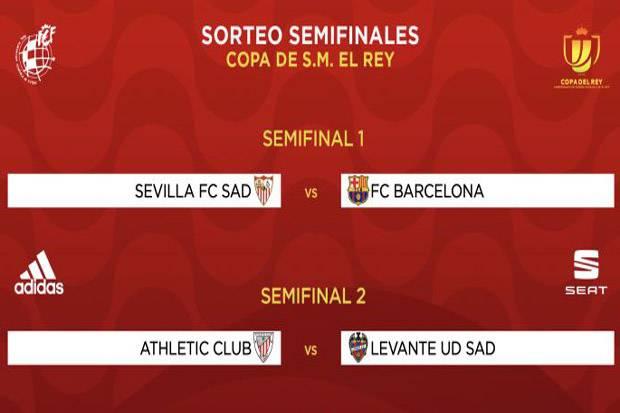 Drawing Semifinal Copa del Rey 2020/2021